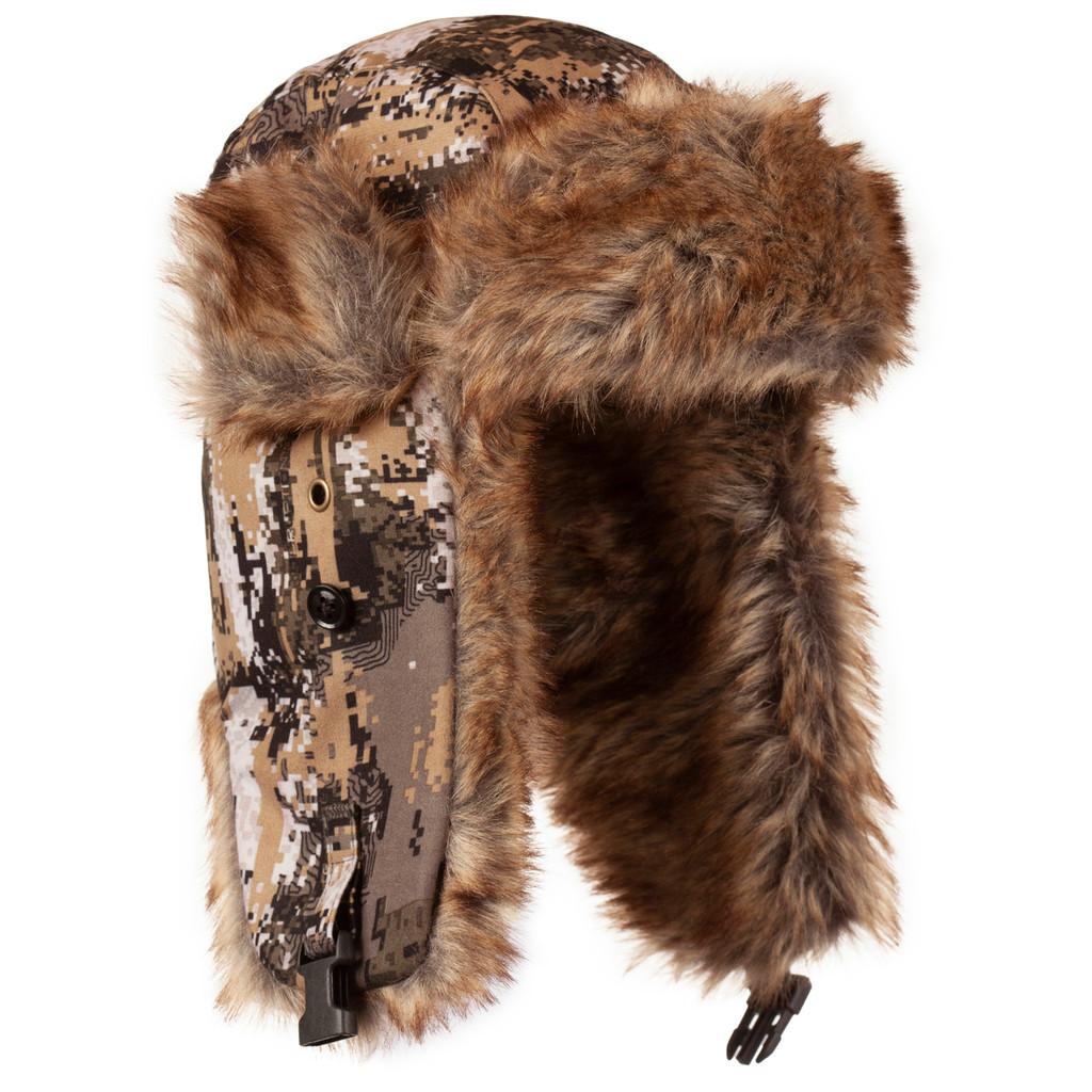 Men's Disruption® pattern Heavyweight Waterproof Hunting Hat.
