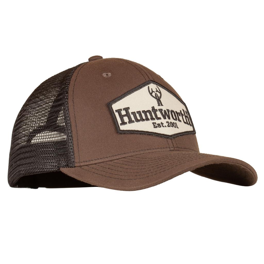 Men's Dark Olive colored Hunting Trucker Cap.
