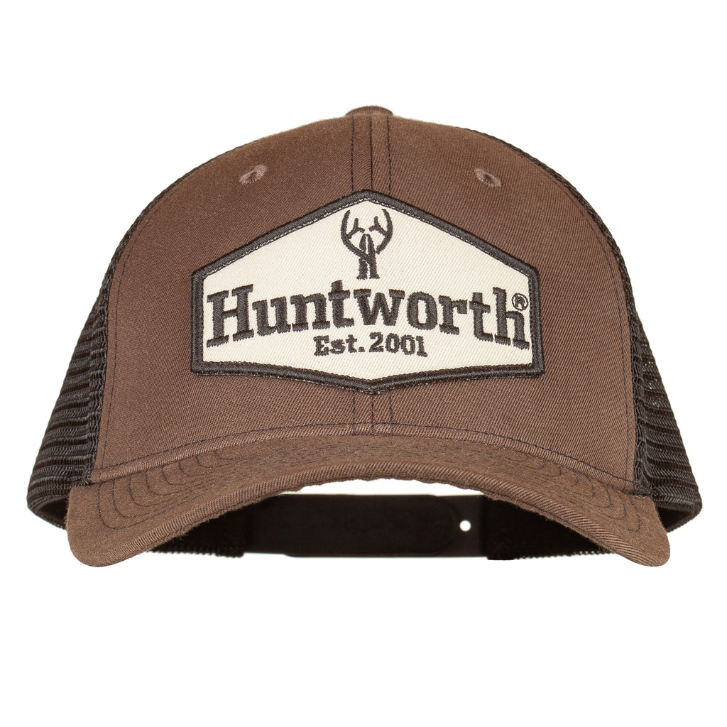 Cotton Twill Hunting Cap - Pre-curved visor.