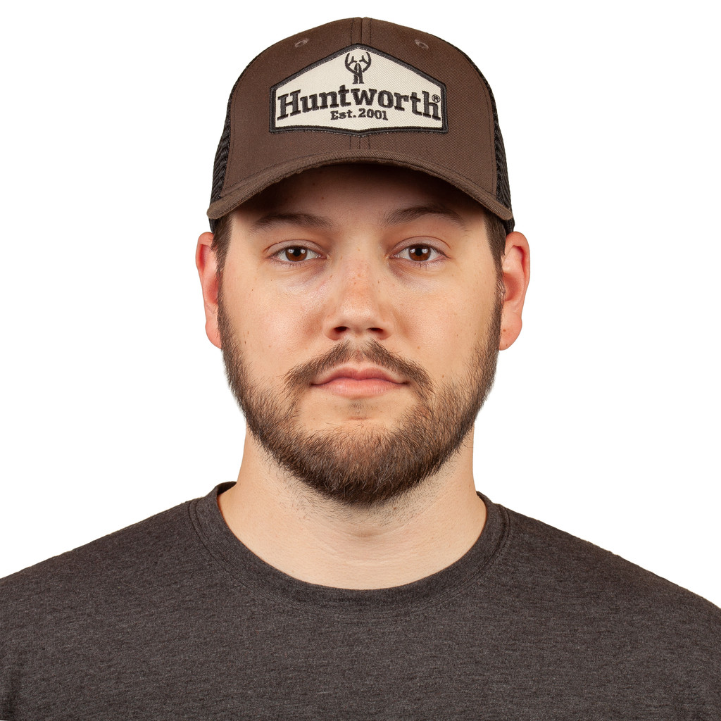 Men's Trucker Hat - Structued front panels.