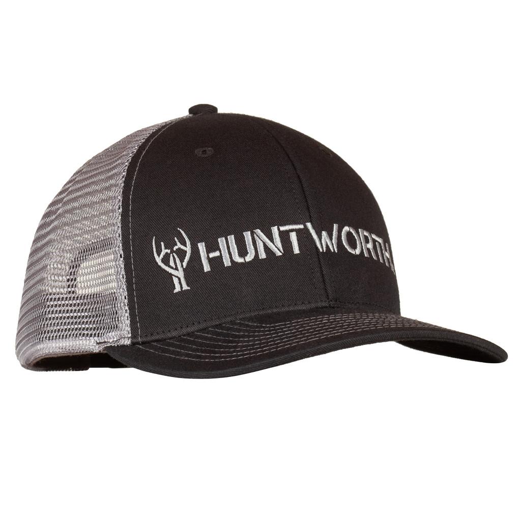 Men's Black colored Hunting Logo Snapback Cap.