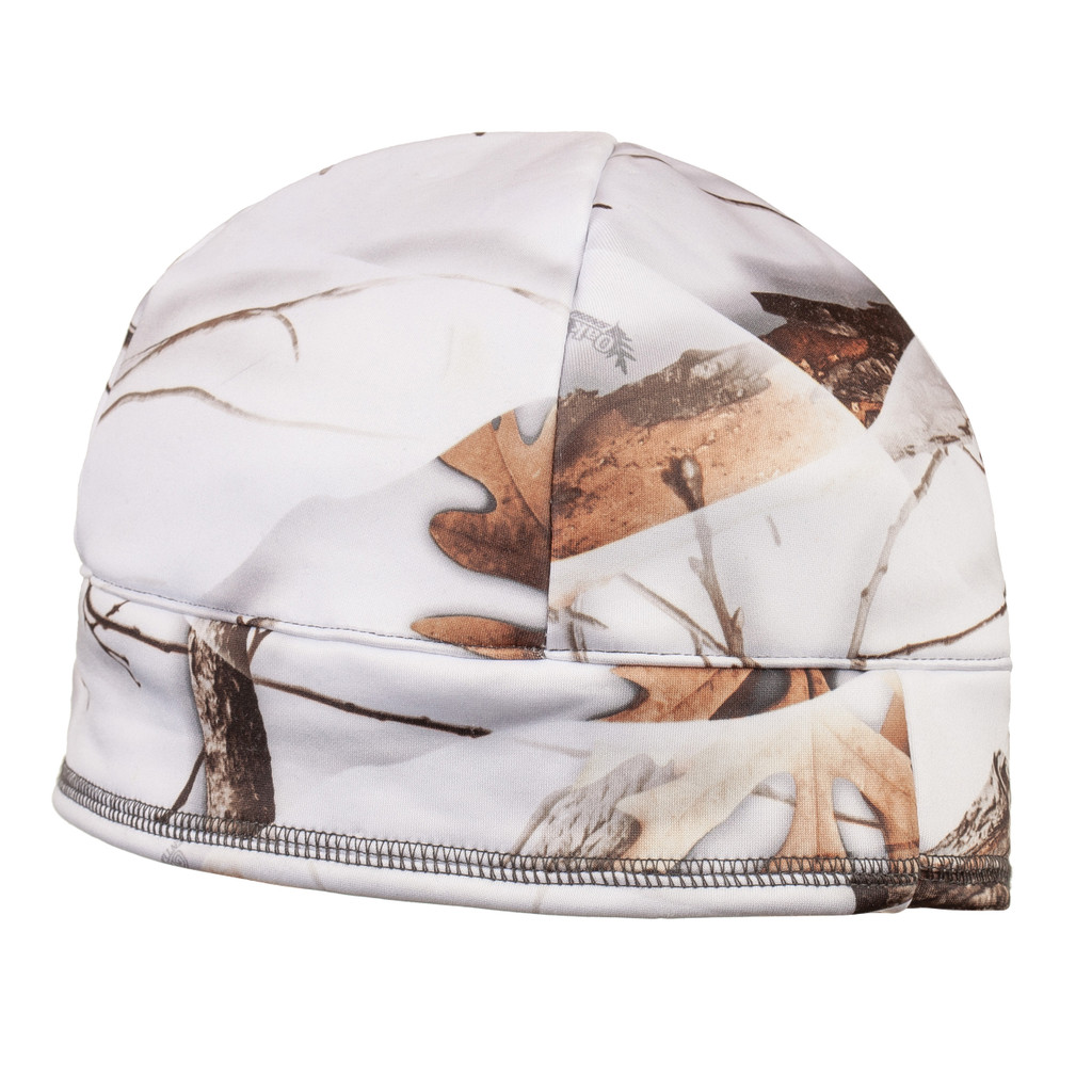 Long Pile Fleece Lined Hunting Hat - DWR finish sheds light moisture and snow.