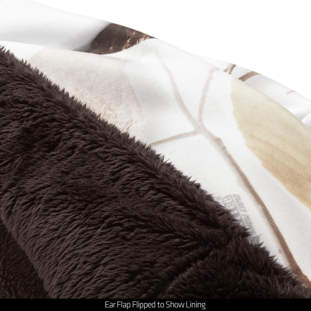 Waterproof Beanie - Plush long pile fleece.