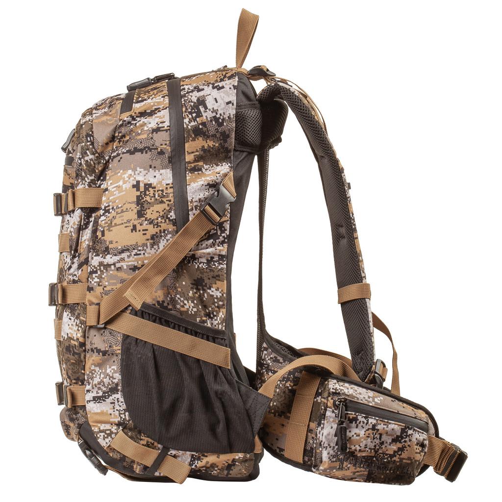 Disruption® Hunting Pack - Three compression straps on back, two side compression straps.