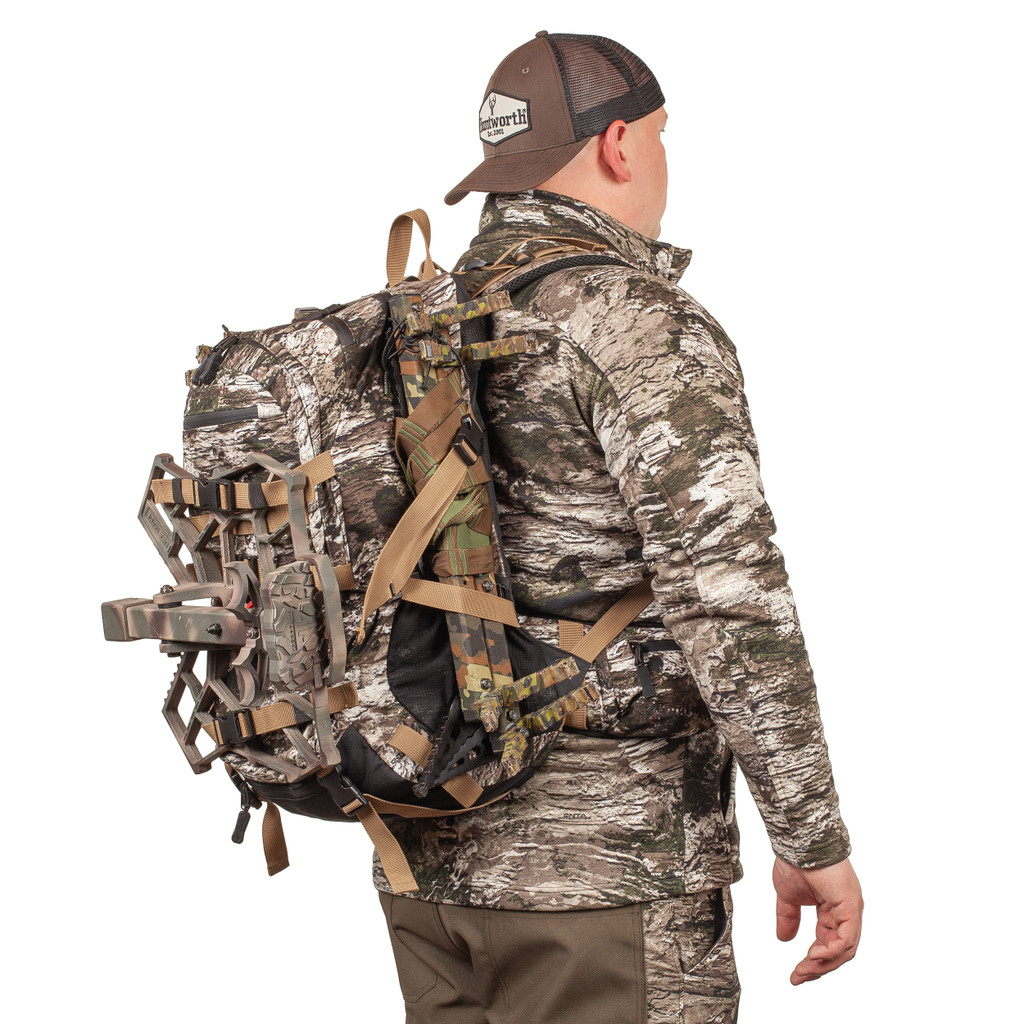 Lightweight All Day Hunting Backpack -  Waterproof zippers.