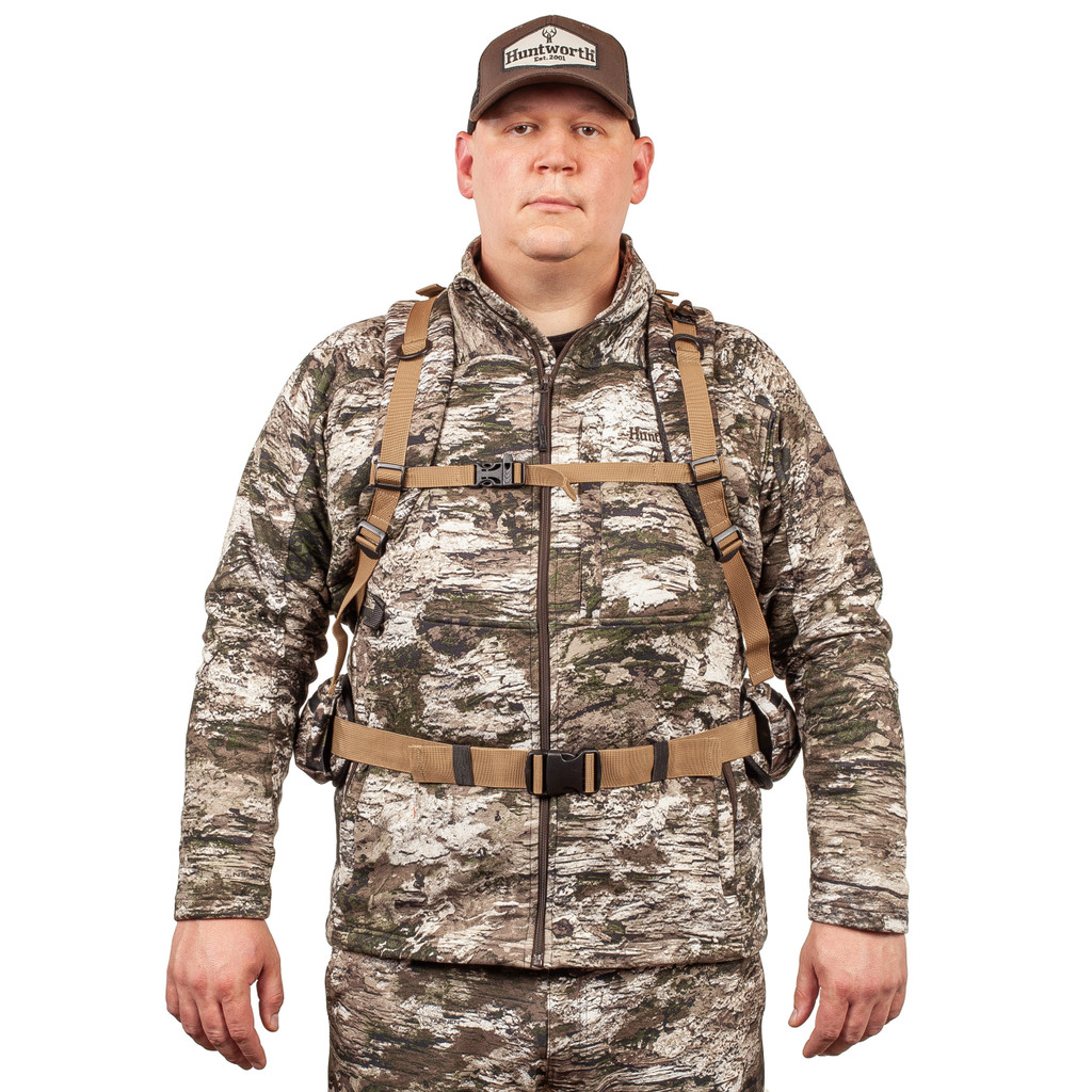 Hunting Backpack - Rifle and bow carry compatible.