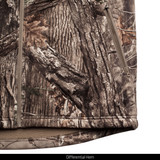 Heavy Weight Berber Bonded Camo Hunting Jacket - Differential Hem.