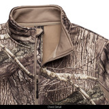 midweight Hunting Jacket - Chest detail.