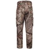 midweight Fleece Bonded Camo Hunting Pants - Back pocket detail.
