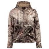 Women's Revere Heavyweight, Windproof, Soft Shell Berber-Fleece-Interior Hunting Jacket - Hidd'n®