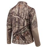 Rear view: Hidd'n® pattern Jacket - Tapered arms for a close fit.