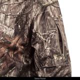 midweight Camo Hunting Hoodie Hidd'n® pattern Hunting Hoodie - Sleeve pocket.