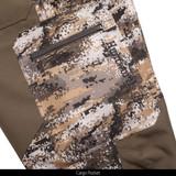 Disruption pattern lightweight hunting pants - zipper cargo pockets.