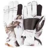 Men's Snow Camo pattern heavyweight Waterproof Hunting Gloves.
