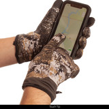 Unlined Hunting Gloves - Touth tip.