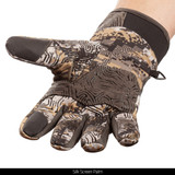 Midweight hunting gloves - Silk screen palm.