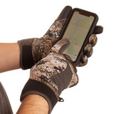 Disruption® pattern midweight hunting gloves - Touch tip.