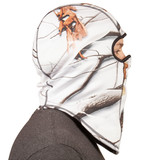 Snow Camo pattern Facemask - Heavyweight to keep you warm.