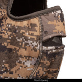 Heavyweight Water Resistant Hunting Balaclava - Mesh mouth opening.