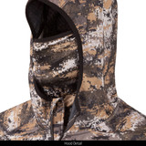 Disruption® pattern  hunting Hoodie - Built in face mask.