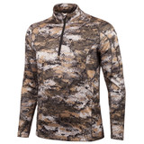 Men's Disruption® pattern midweight Hunting 1/2 Zip Pullover.