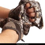 Disruption® pattern Gloves - Magnetic pop top closure.