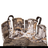 Disruption® camo midweight hunting Gloves - Finger pulls.