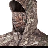 Men's Sport Knit Jersey ½ Zip Hooded Hunting Pullover with Facemask (Hidd'n®)