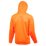 Rear view: Performance hunting hoodie - Draw cord hood.