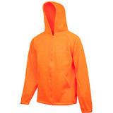 Men's Hooded Knit Jersey Hunting Jacket (Blaze)