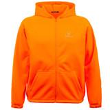 Men's Eagan Knit Jersey Hooded Hunting Jacket - Blaze