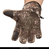 Midweight Water Resistant Hunting Gloves - Silk screen palm.
