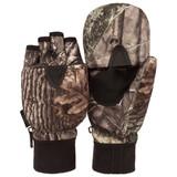 Men's Hidd'n® pattern heavyweight Waterproof Hunting Pop Top Gloves.