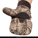 Heavyweight Thinsulate Insulated Camo Hunting Gloves - Pop top.