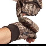 Hidd'n® pattern Gloves - Magnetic pop top closure.