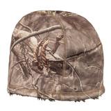 Rear view: Hidd'n® Hat - 4-way stretch fleece.