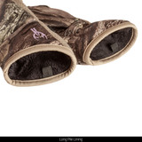 Midweight hunting gloves - Long pile interior.