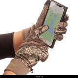 Hidd'n® pattern gloves - Touch tip.
