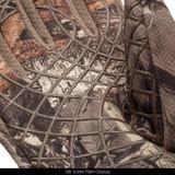 Hidd'n Gloves - Silk screen palm closeup.