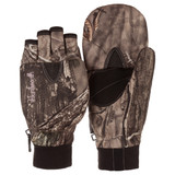 Ladies Hidd'n® pattern heavyweight Waterproof Hunting Pop Top Gloves.