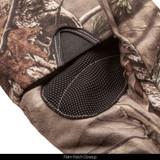 Hidd'n® gloves - Palm patch close up.