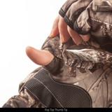 Hidd'n® hunting gloves - Pop top thumb tip.