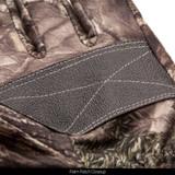 Hidd'n® Gloves - Palm patch closeup.