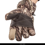 heavyweight Waterproof Hunting Gloves - Palm patch.