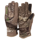 Youth's Hidd'n® pattern midweight Water Resistant Hunting Gloves.
