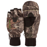 Youth's Hidd'n® pattern heavyweight Waterproof Hunting Pop Top Gloves.