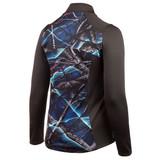 Women's Performance Fleece Lifestyle Camo Jacket - Charcoal Gray/Nova