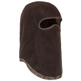 Heavyweight Lined Camo Hunting Facemask - Thick anti-pill fleece.