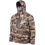 Men's Heavy Weight, Windproof  ½ Zip Pullover, Sherpa Interior (Disruption®)
