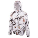 Men's Microfiber Waterproof Cover Up Jacket (Snow Camo)